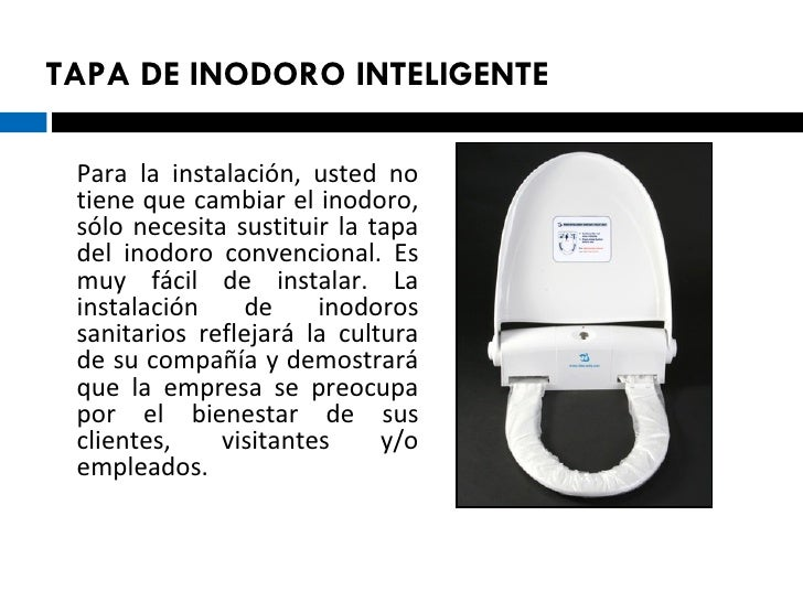 Tapa de inodoro inteligente for Que es inodoro