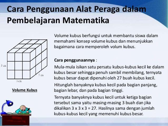 Media Dan Alat Peraga Dalam Pembelajaran Matematika
