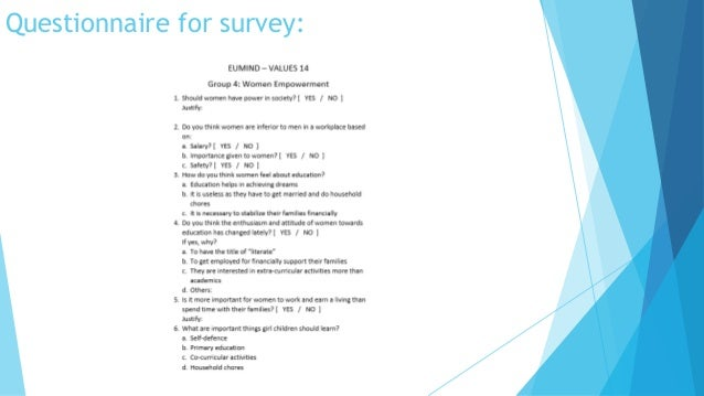 empowerment questionnaire Set a valid questionnaire to measure the level of empowerment of patients with  chronic diseases could be an effective tool to assess the results.