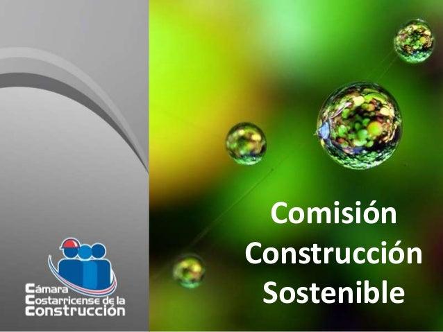 Comisión Construcción Sostenible