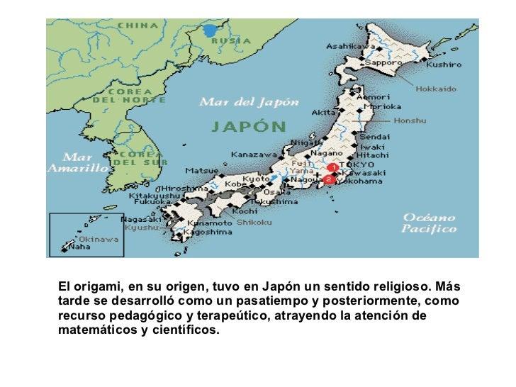 El origami, en su origen, tuvo en Japón un sentido religioso. Más tarde se desarrolló como un pasatiempo y posteriormente,...