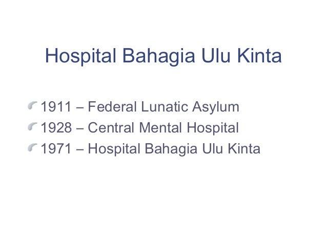 Mental hospital malaysia