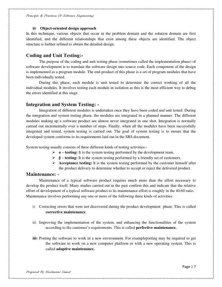 software engineering notes free