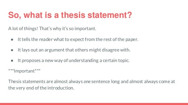 P ps, linking words, & thesis statements