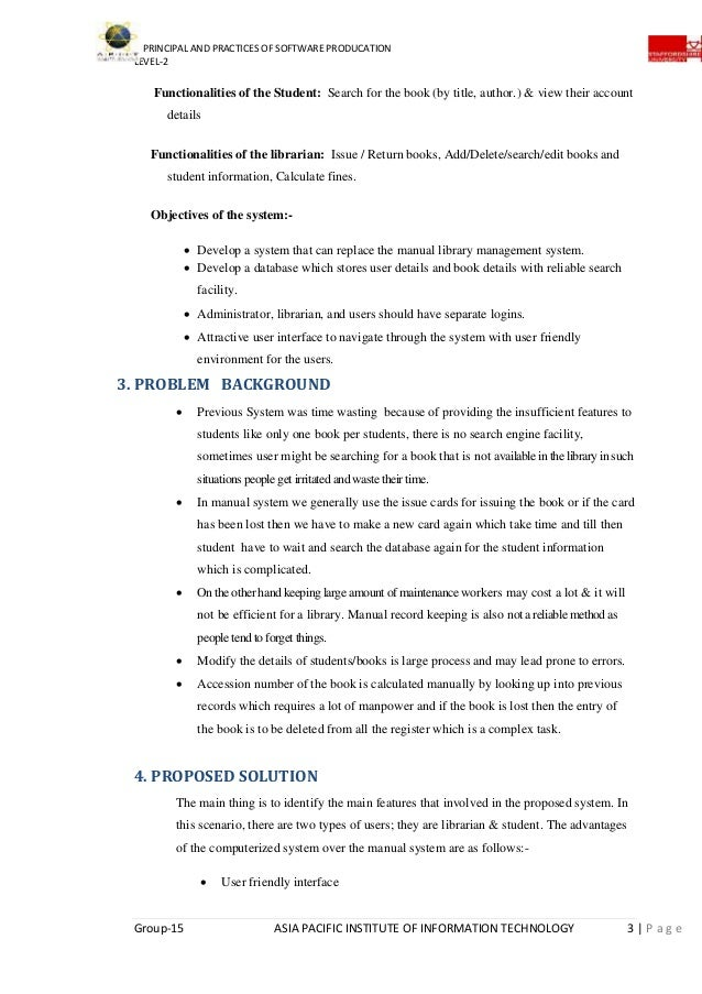 library management system rh slideshare net Administrative Procedures Manual Desk Manual