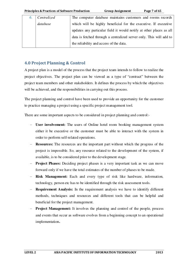 online hotel reservation system project