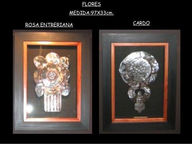 FLORES MEDIDA:97X33cm. CARDOROSA ENTRERIANA