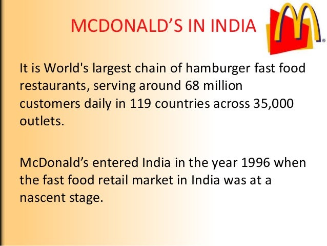 international case mcdonalds s serving fast food around the world Unique mcdonald's meals from around the world the daily meal facebook twitter flipboard print email one of best-known chains around the world, mcdonald's is a global force in the fast-food industry and consistently shows no signs of slowing down its popularity has remained unaffected by lawsuits and exposés, a.