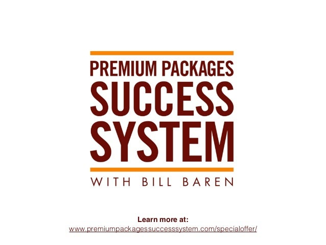 Premium Packages Success System   OFFICIAL