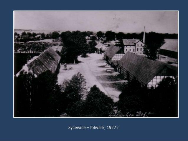 Sycewice – folwark, 1927 r.