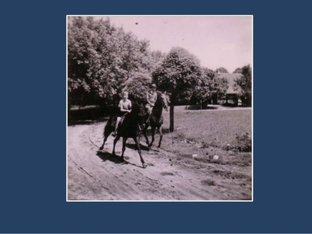 """• """"Ta aleja prowadzi do Gaci, naszego drugiego  majątku. Leży on za laskiem po lewej stronie  obrazu. Kto raz pracował na ..."""