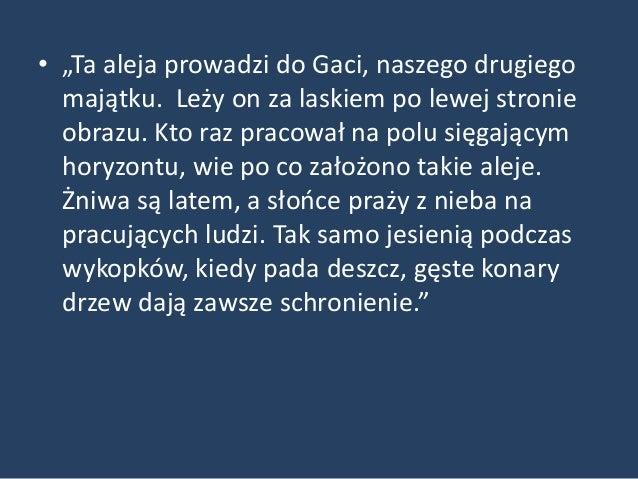 Aleja do Gaci (Gatz)