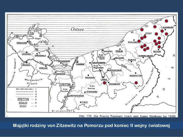 Majątki rodziny von Zitzewitz na Pomorzu pod koniec II wojny światowej