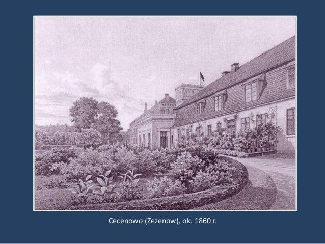 Cecenowo (Zezenow), ok. 1860 r.