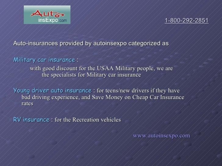 Cheap Car Insurance For Teens >> Military car insurance- USAA auto insurances