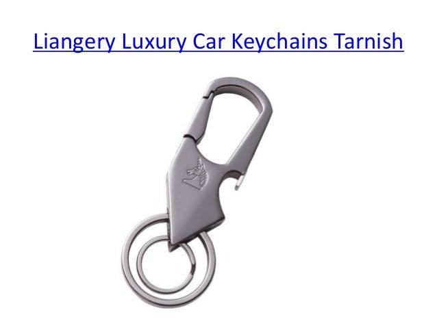 Liangery Luxury Business Gift Car Key Chain Rings