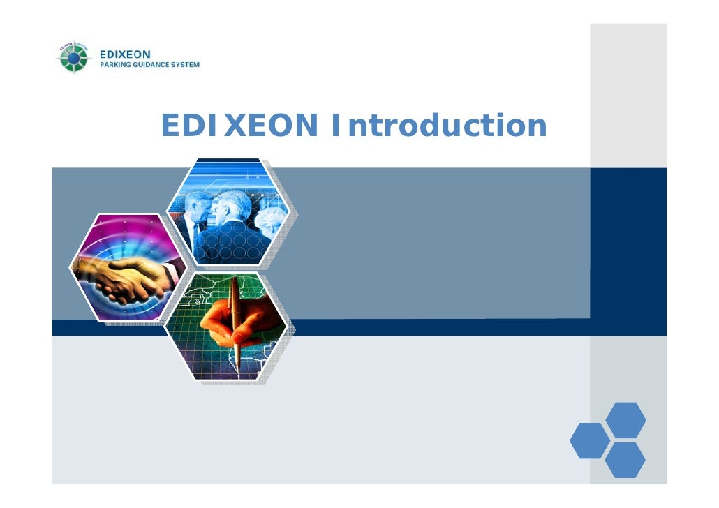 LOGO       EDIXEON Introduction