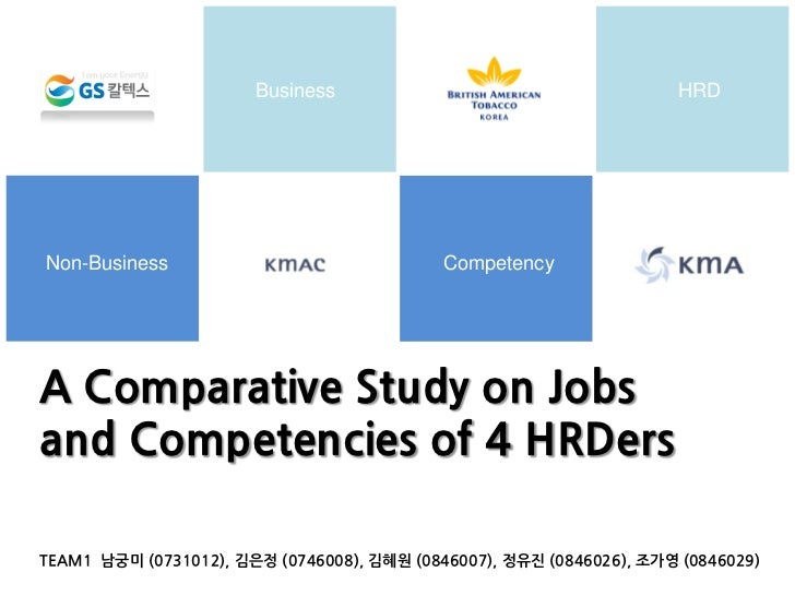 Business                                      HRDNon-Business                                CompetencyA Comparative Study...