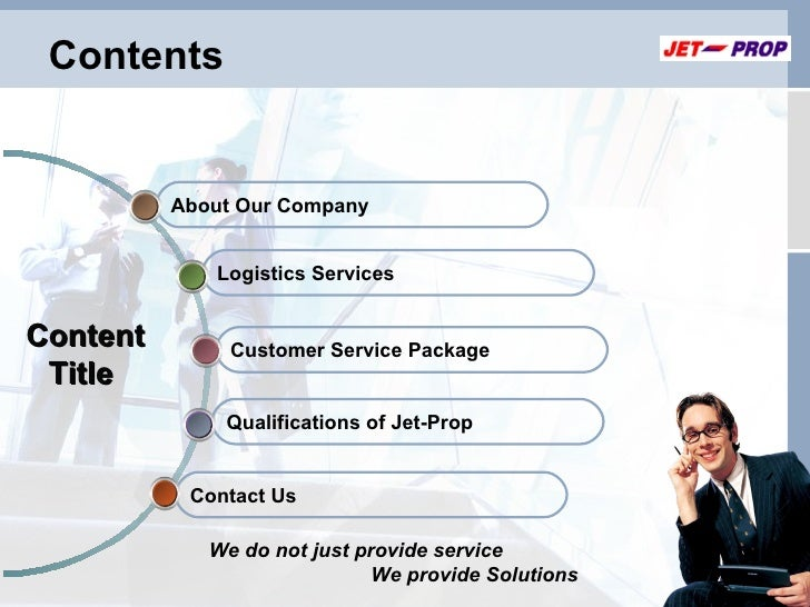 Content writing services ppt