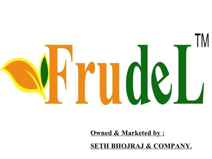 Owned & Marketed by : SETH BHOJRAJ & COMPANY.