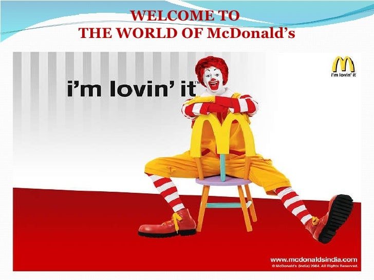 example of job analysis mcdonalds