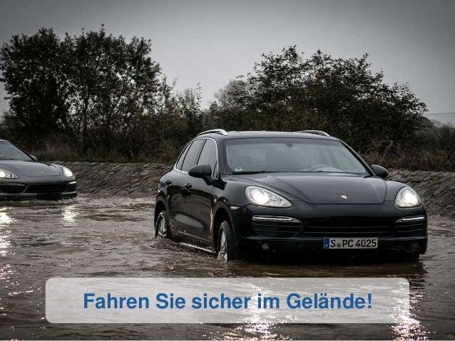 Fahren Sie sicher im Gelände!