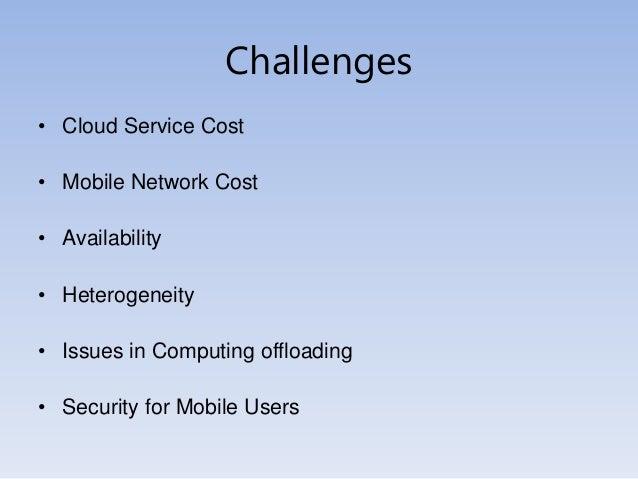 mobile computing issues Mobile computing: issues and challenges sajid umair, umair muneer, muhammad nauman zahoor, asad waqar malik.