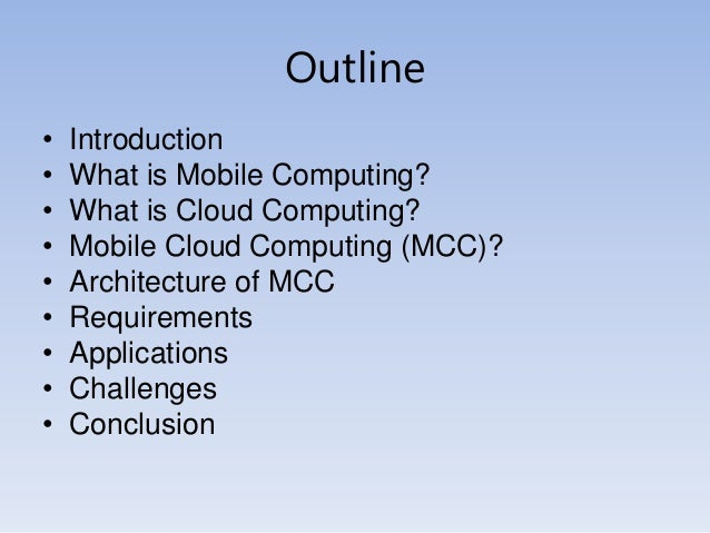 Mobile cloud computing.