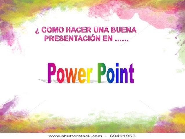 ¿Qué es un Power Point?• Es un conjunto dediapositivas quesirve como apoyográfico para unapresentación.• La presentación l...