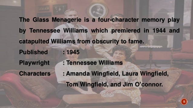 character analysis glass menagerie
