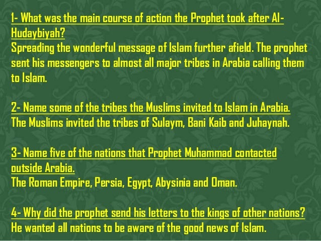 Prophet Muhammad Reaches out to Arabia Slide 3