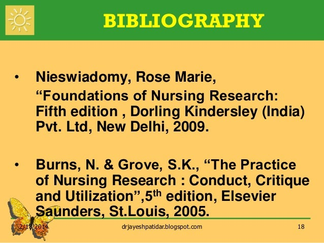 nursing research proposal burns grove See all results for burns and grove nursing research burns and grove's the practice of nursing research: appraisal, synthesis, and generation of evidence, 8e.