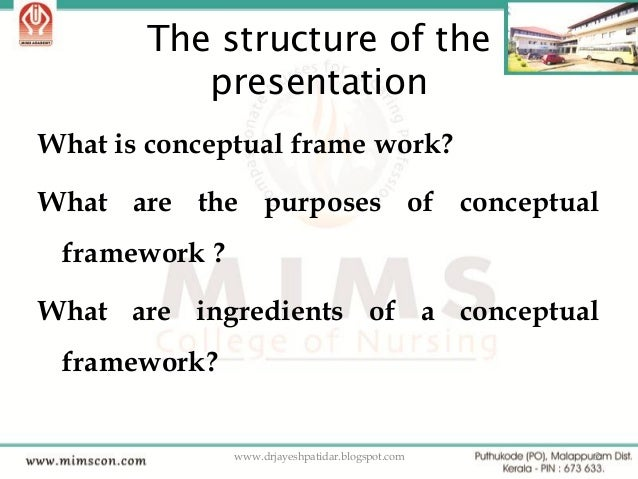 Ppt. developing a conceptual framework