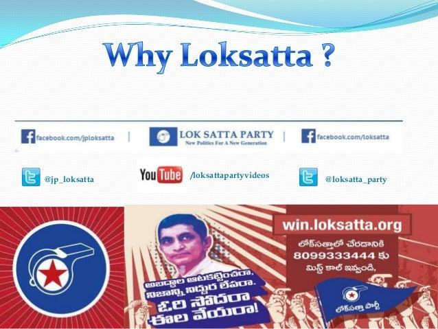 @jp_loksatta @loksatta_party/loksattapartyvideos