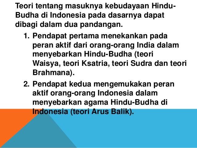 Proses Hinduisme Dan Buddhaisme Di Indo