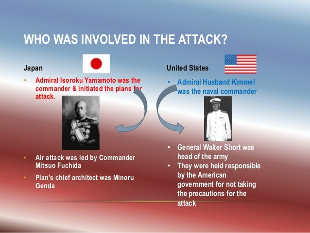 an introduction to yamamotos plan of attacking pearl harbor Admiral isoroku yamamoto was the chief architect of the japanese attack on  pearl harbor 75 years ago naval historian capt yukoh.