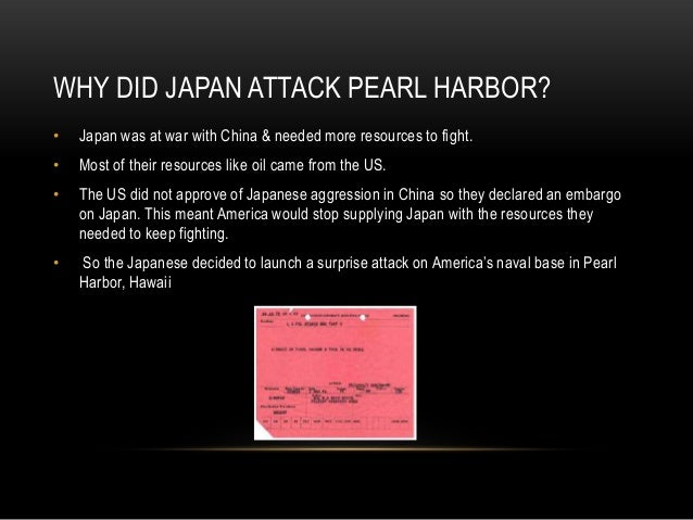 why the japanese attacked pearl harbor It's hard to find anyone who doesn't know about japan's attack on pearl harbor,  but how many people know about the second attack on pearl.