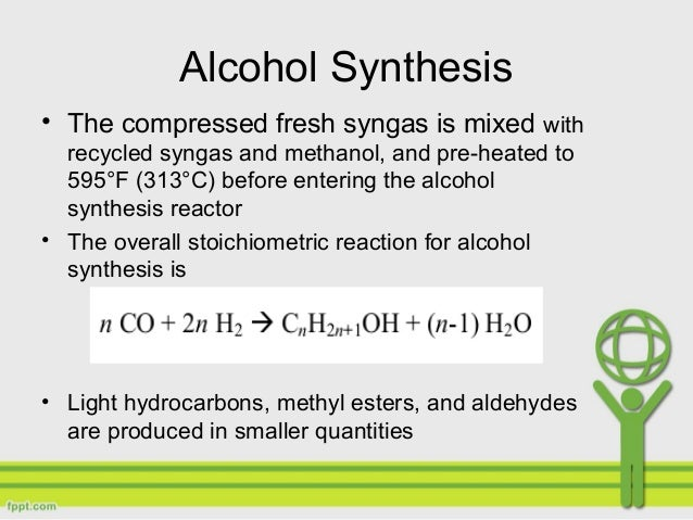 Biomass Bioconversion To Mixed Alcohol Fuels ~ Production of mixed alcohol fuels from biomass