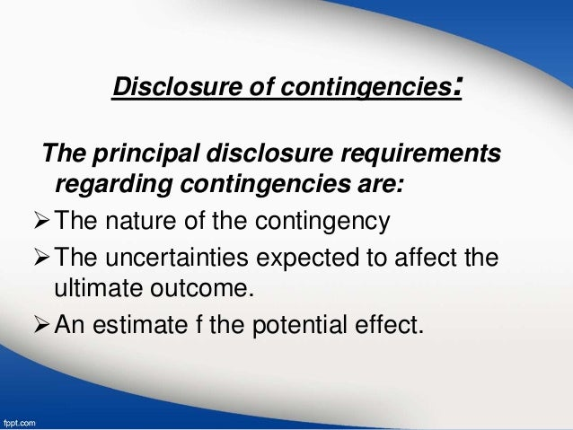 contingent liabilities Tthank you for ask me contingent liabilities where the group undertakes to make a payment on behalf of its customers for guarantees issued such as for performance.