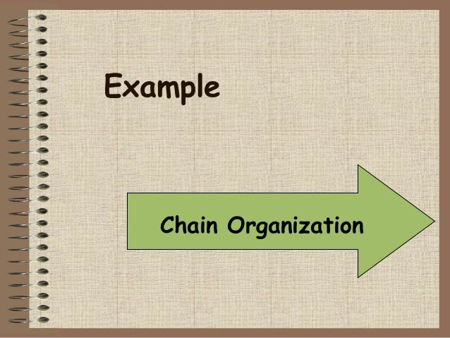 cause effect essay example chain organization