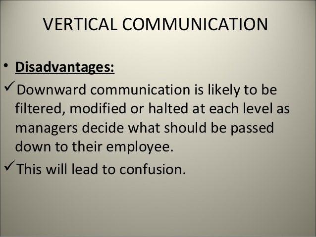 Advantages & Disadvantages of a Vertical & Horizontal Organization