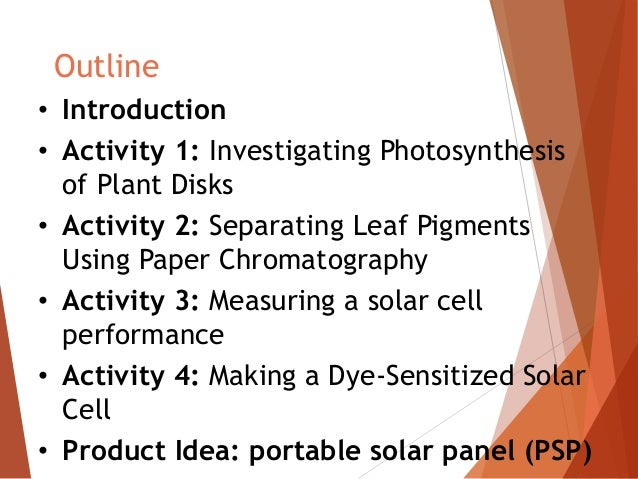 dye sensitised solar cell thesis This thesis is brought to you for free and open access by the graduate   considering biocompatibility, the dye sensitized solar cell (dsc) based on  titanium.