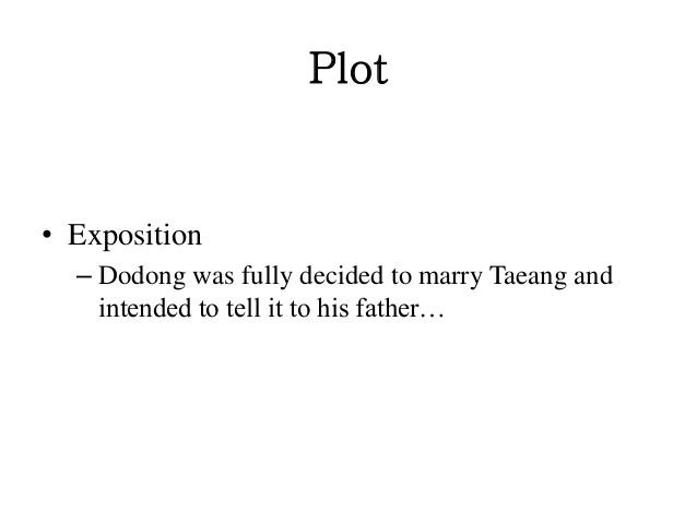 footnote to youth plot Footnote to youth by jose garcia villa  plot • exposition – dodong was fully  decided to marry taeang and intended to tell it to his father.