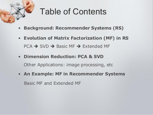 Matrix Factorization In Recommender Systems Slide 2