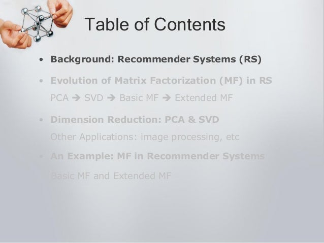 Matrix Factorization In Recommender Systems Slide 3