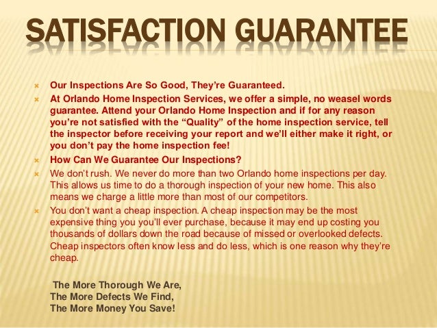 Orlando Home Inspection Services
