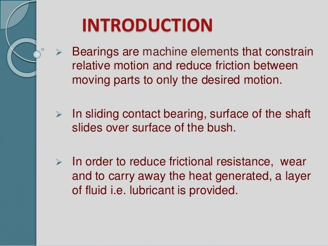 Causes of bearing failure ppt video online download.