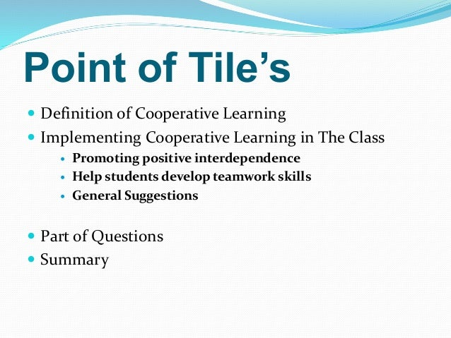 Collaborative Learning Techniques Classroom : Cooperative learning for els in the classroom