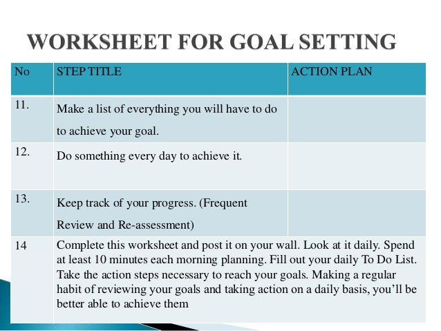 how to plan your multiple goals