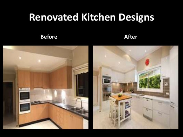 Renovated Kitchen Designs Before After ...